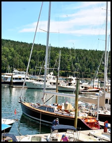 11c - Rt 198 - Northeast Harbor - Far Out Sailboat
