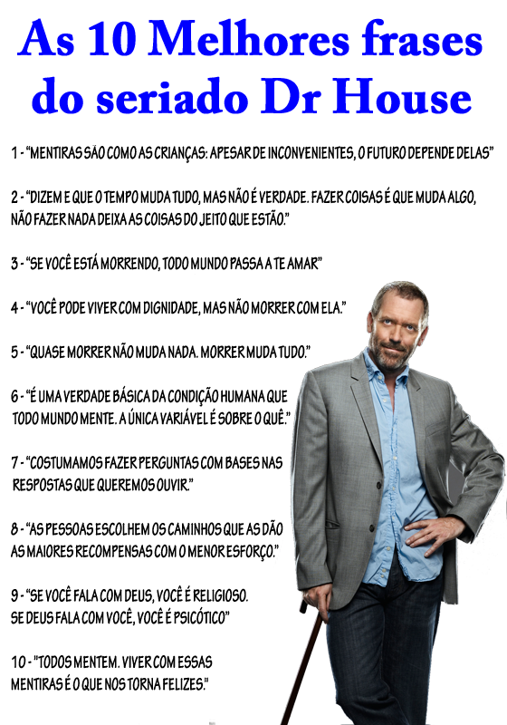 Doutor House Frases 6 Quotes Links