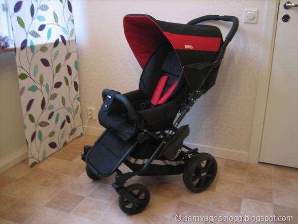 Recension av Brio Spin - Barnvagnsblogg