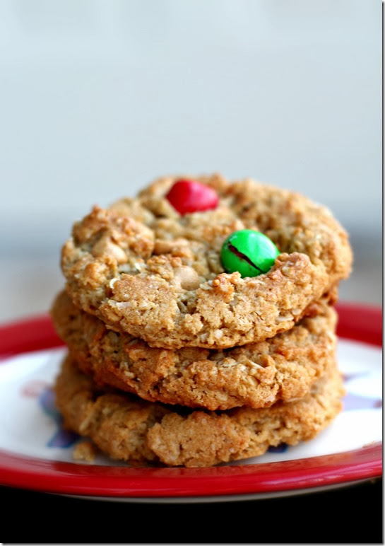 Peanut Butter M&M Monster Cookie3