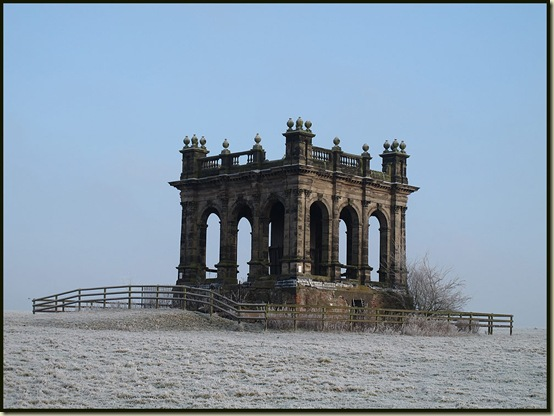A decrepit folly in Sandon Park