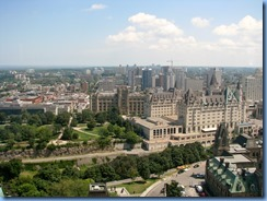 6152 Ottawa - Parliament Buildings Centre Block - Peace Tower and Memorial Chamber tour - Peace Tower observation deck
