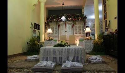 delima wedding gallery: dekorasi akad nikah