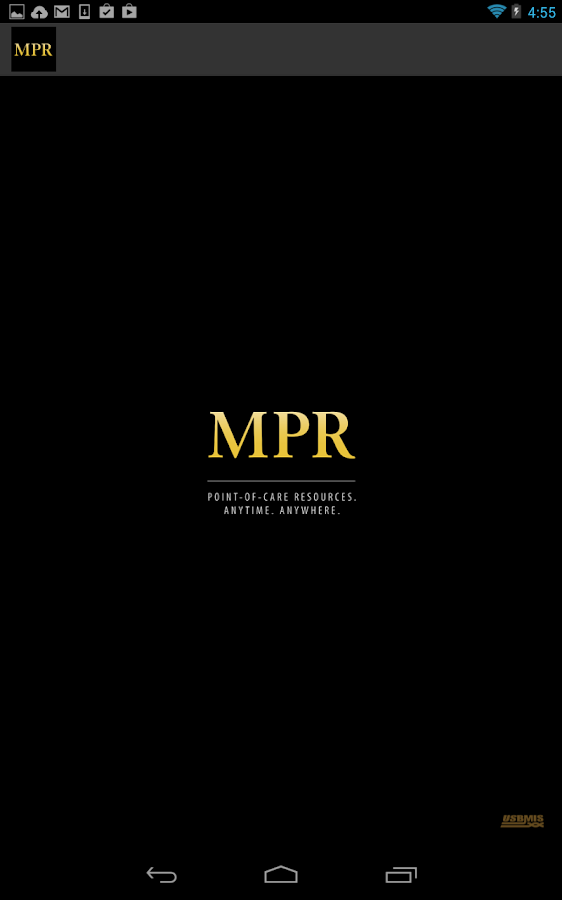 MPR - screenshot