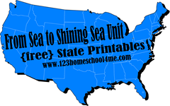 From Sea to Shinnig Sea with Free state worksheets