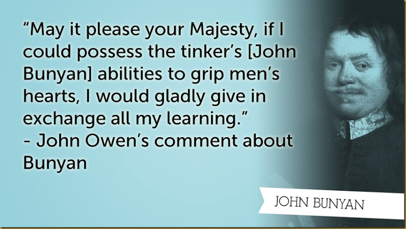 john owen about bunyan