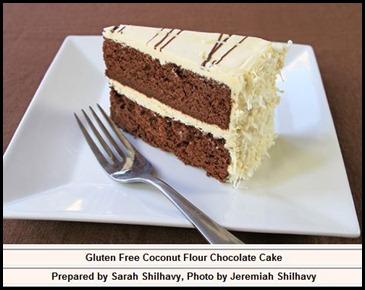 Tropical Traditions Coconut Flour Cake