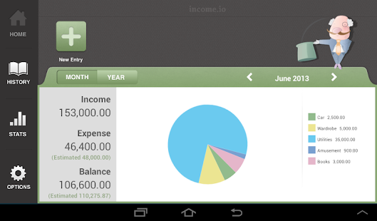 income.io - Money Saving App- screenshot thumbnail