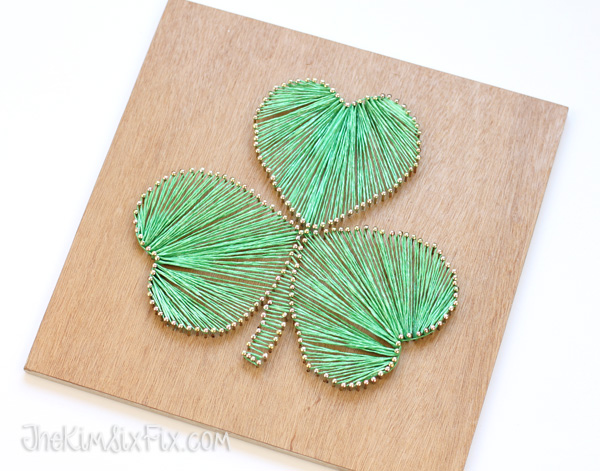 St Patricks Day String Art