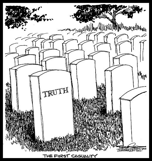 The truth of war