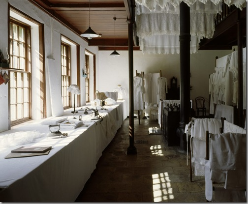 The Laundry at Castle Ward, County Down, Northern Ireland