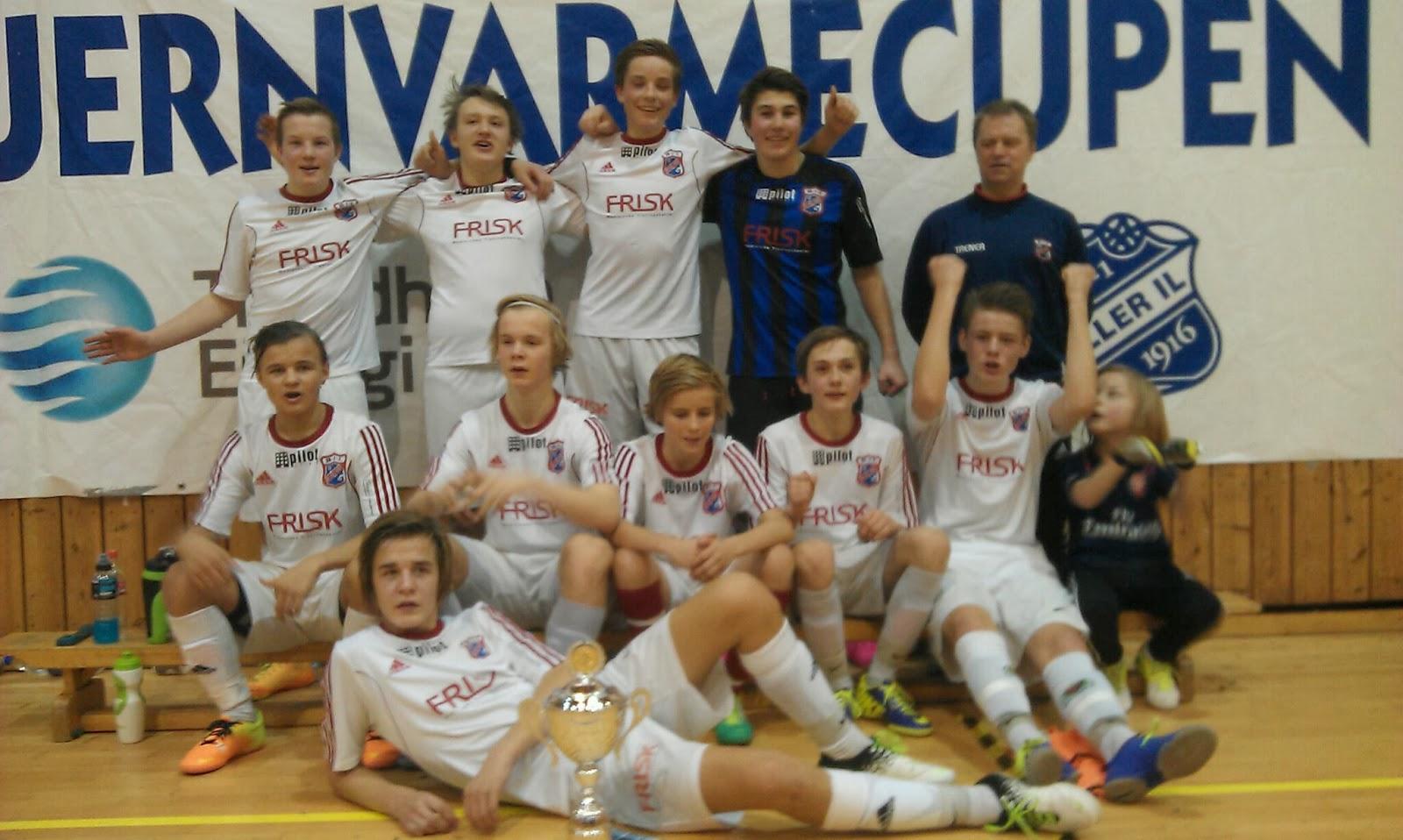 9a1b5be0 Byåsen G 16 vant Fjernvarmecupen klasse G 17