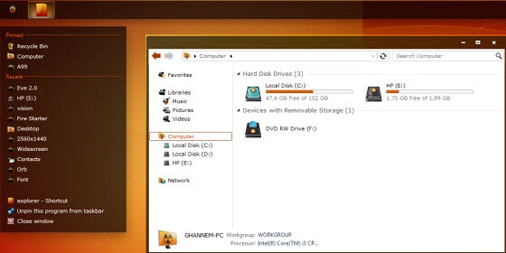 cayon_x_for_win7