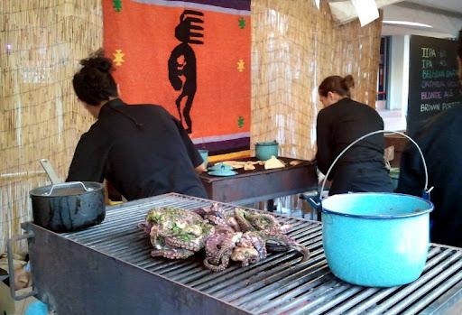 Tacos Kokopelli Grilling Octopus