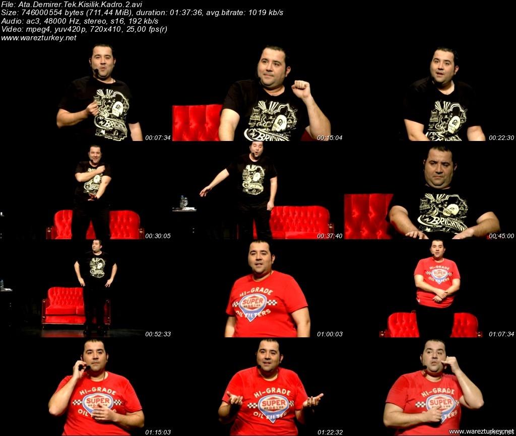 Ata Demirer: Tek Kişilik Dev Kadro 2 - 2011 DVDRip XviD - Tek Link indir