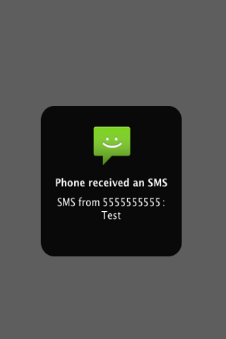 Remote Notifier for Android- screenshot