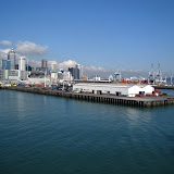 North Island - Auckland... arrival on the ship