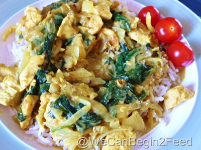 June 2 Curried Coconut Chicken 005