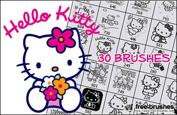 hello-kitty-brushes