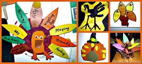 Preschool-Art-Thanksgiving-Turkeys-5-Ideas