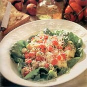 Potato Salad Parmesan Tomato