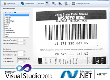 Barcode Reader .NET SDK