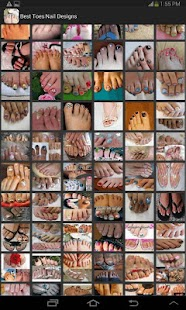 Best Toes Nail Designs- screenshot thumbnail