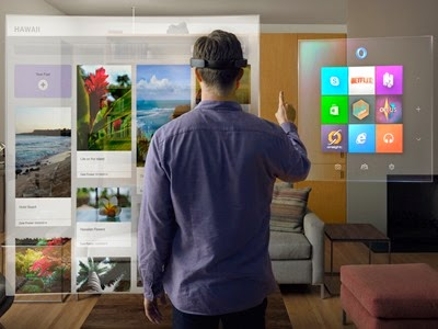 Microsoft Windows 10 Hololens - the mobile spoon