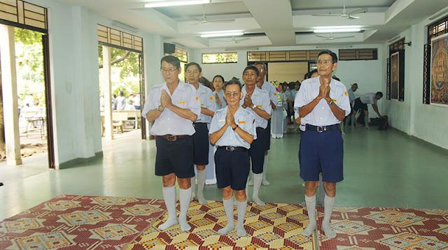 DSC06263 Lễ Hiệp kỵ   Lễ Huý Nhật Cư sĩ Sáng lập viên GĐPT Việt Nam   Tâm Minh Lê Đình Thám
