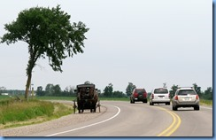 4994 On way to Kissing Bridge - Mennonite buggy