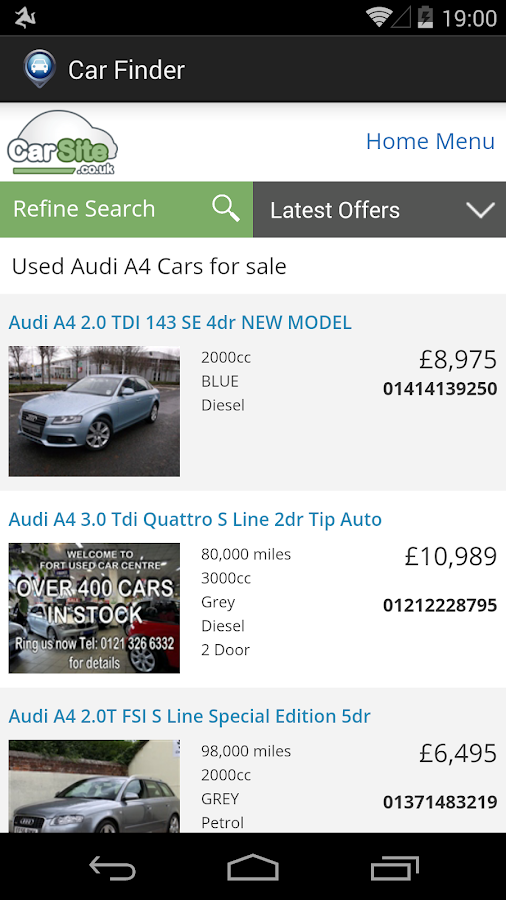 Car Finder- screenshot