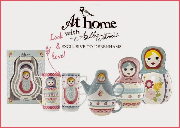 at home with Ashley Thomas Russian Dolls