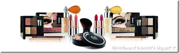 the body shop winter make up