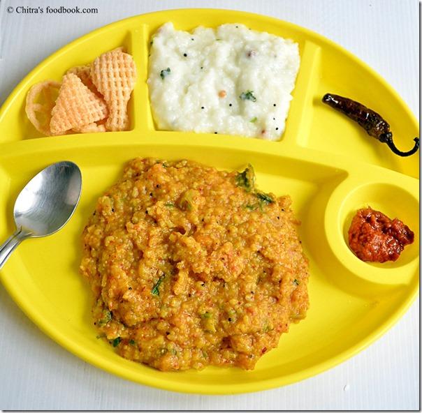 sambar sadam-plate