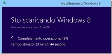 Download di Windows 8