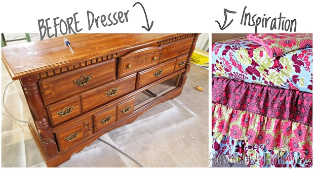 Before Dresser and fabric inspiration