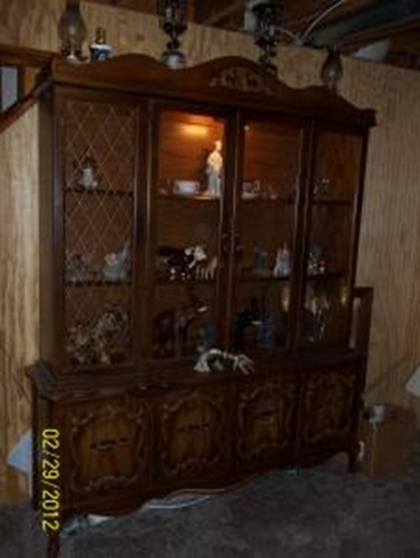 china cabinet rescue ~ of the retro orange variety - reality daydream