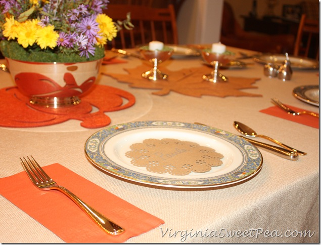 MS Circle Punch Placecard