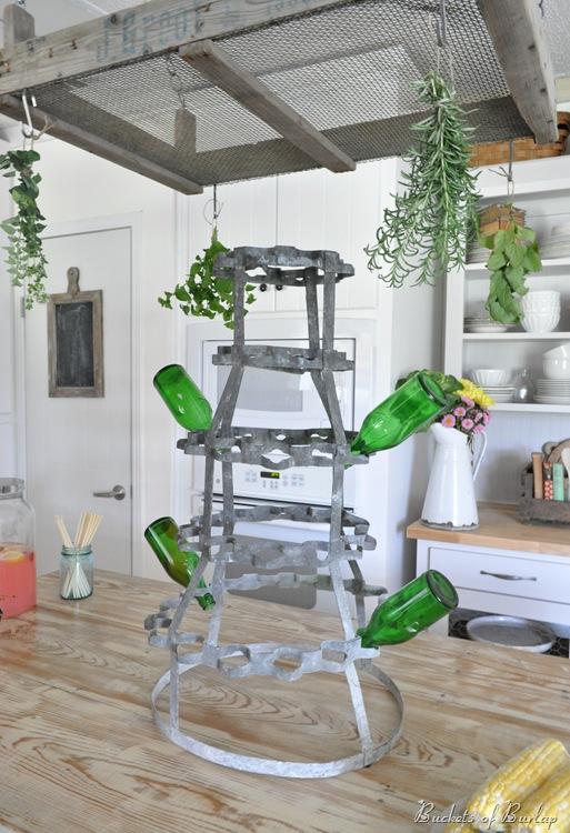 new kitchen herb rack