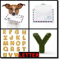 LETTER- 4 Pics 1 Word Answers 3 Letters