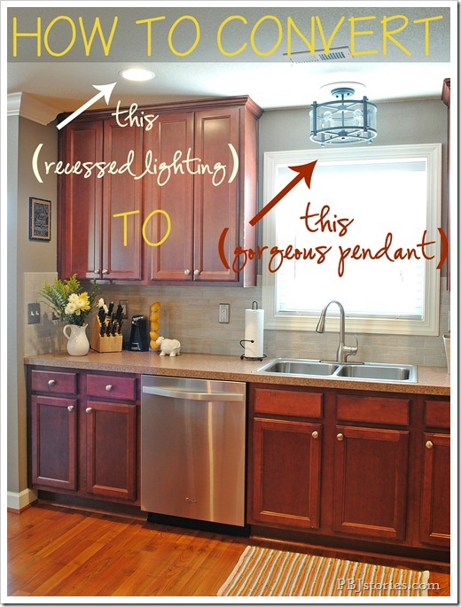 Kitchen Hanging Light Ideas