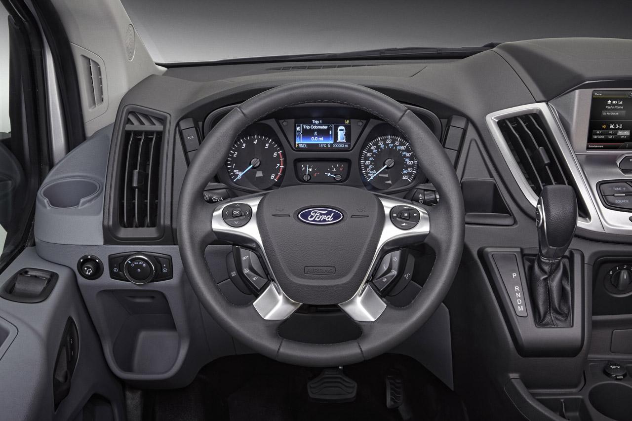 2014 ford transit 7 39 inci jenerasyonu ile comvex de for Ford transit custom interior