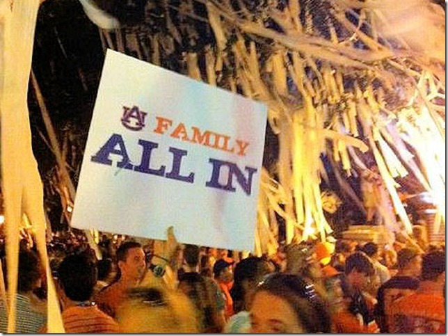 auburn family - all in