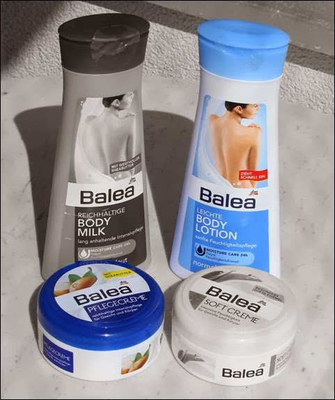 Balea Body Lotion Favoriten