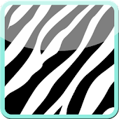 Complete Teal Zebra Theme