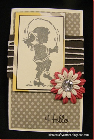 Dotty for You_Sheri Reiff_Hello card