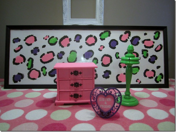 Girls Room Decor From Thrift Store @ Krafty Kat