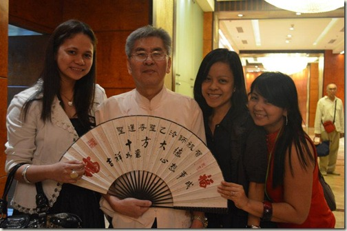 with fellow Bloggers Aylin & Jing. Photo from TheDailyPosh