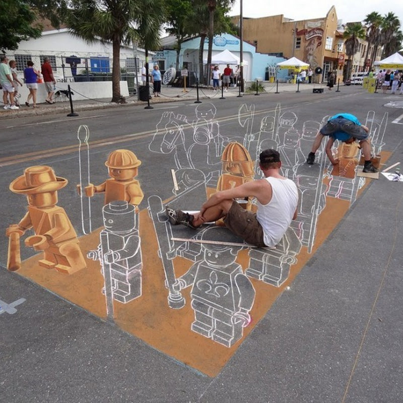 Amazing Street Art at Sarasota Chalk Festival