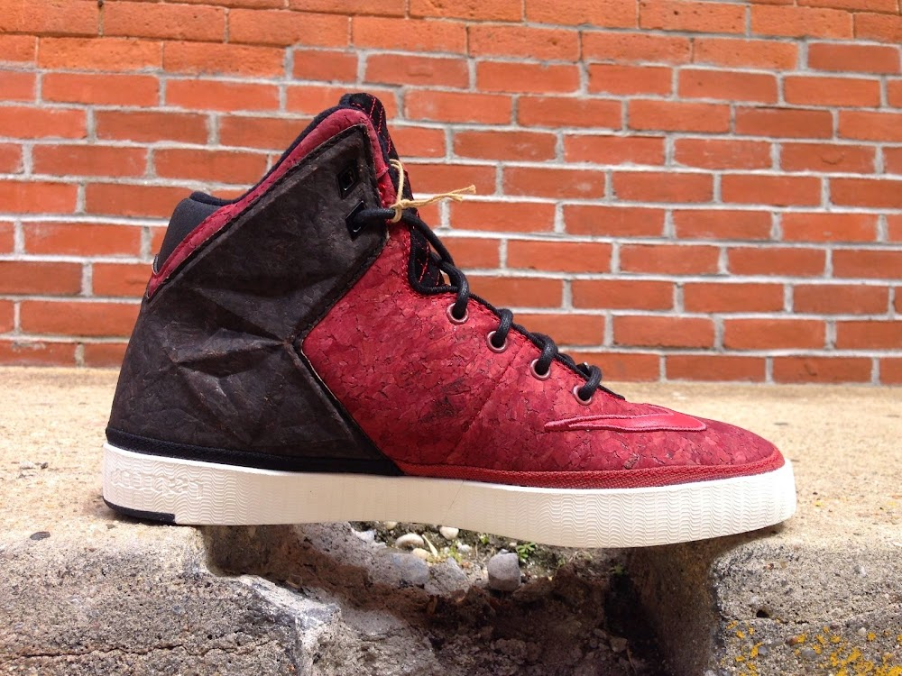 6e2207e2fbe8 Closer Look at Nike LeBron XI NSW Lifestyle 8220Red Cork8221 .